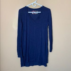 Anthropologie Pure + Good navy tunic